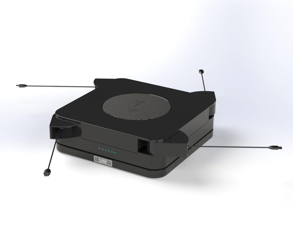 Rendu réaliste modélisation 3D d'un boitier spéciaux design