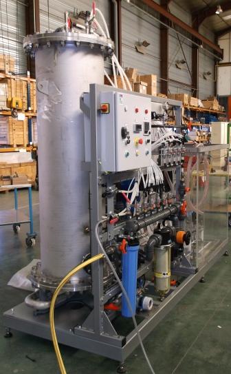Photo d'un équipement de test banc d'essai