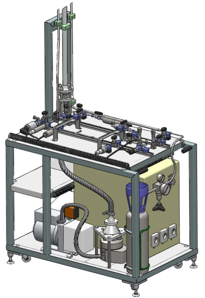 Modélisation 3D CAO d'un banc d'essai