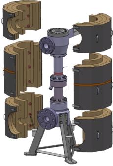 Modélisation 3D d'un équipement de tests essais