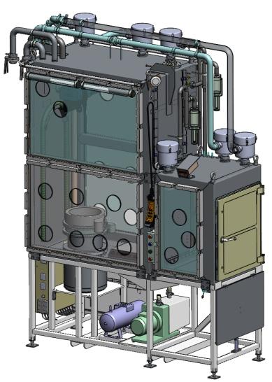Modélisation 3D CAO d'une boite à gants