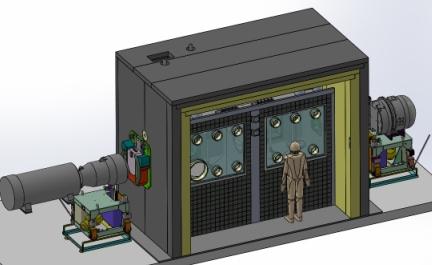 Modélisation 3D CAO d'une cellule blindée