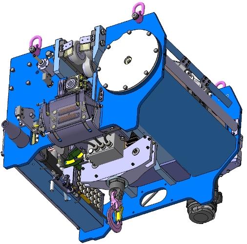 Modélisation 3D d'un chariot de levage spécial