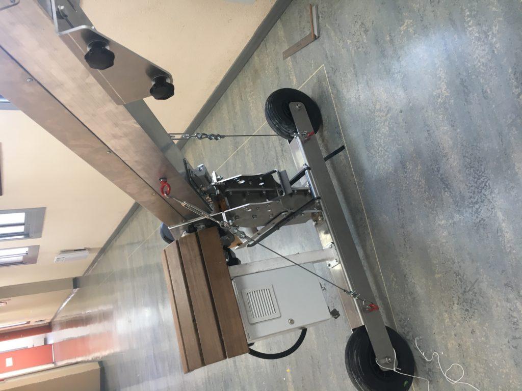 Photo d'un treuil potence de manutention spécial