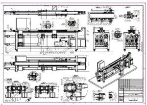 Exemple d'un plan d'ensemble industriel