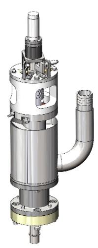 Modélisation 3D CAO d'une colonne motorisée avec dissipateur thermique