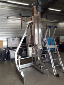 Photo d'une Machine spéciale industrielle, chassis en acier inoxydable