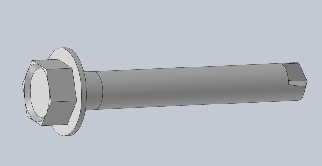 Modèle 3D CAO CAD VIS AUTOPERCEUSE DIN 7504K